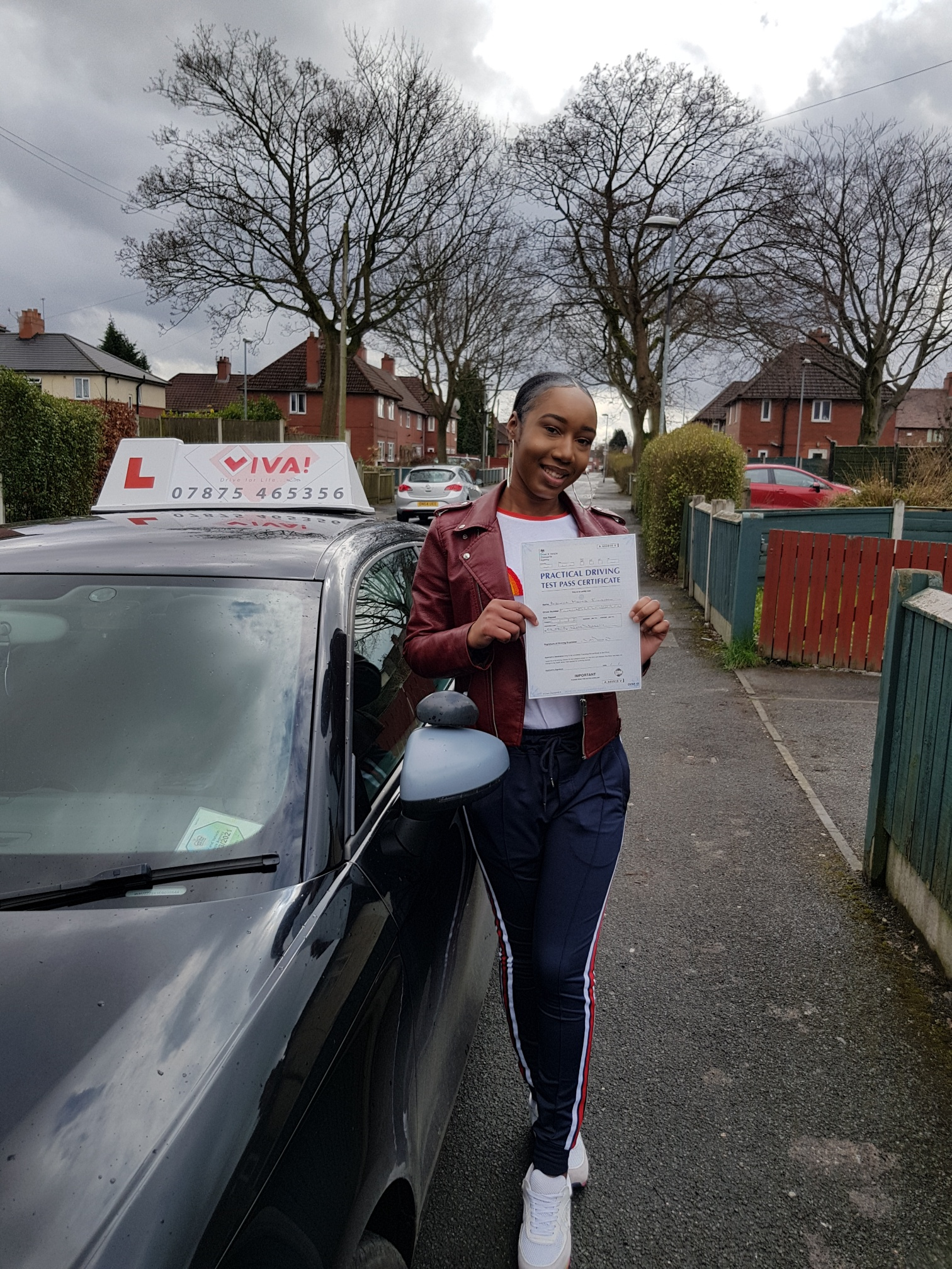 manchester driving lessons. Test Passed.